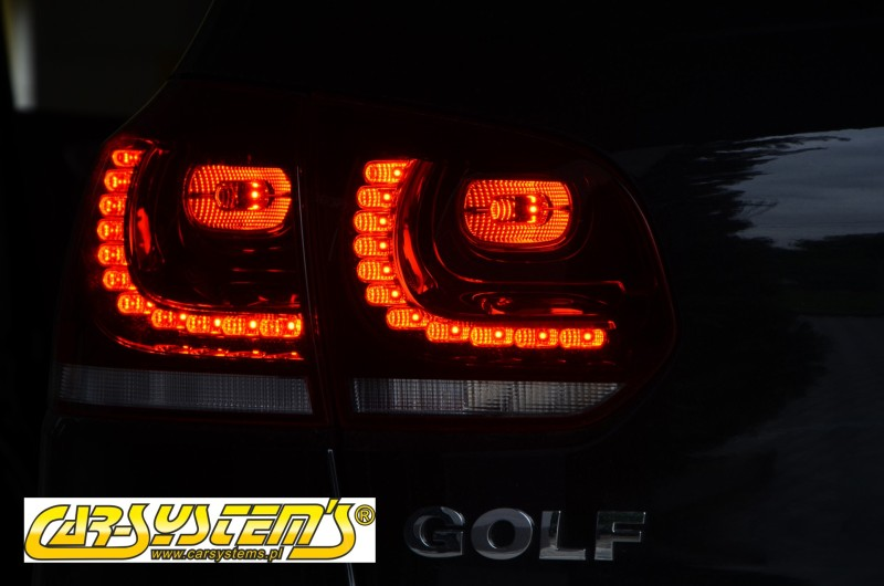 original golf 6 5k led r ckleuchten heckleuchten gti r. Black Bedroom Furniture Sets. Home Design Ideas